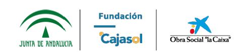 LA CONVOCATORIA DE LA CAIXA ANDALUCÍA APRUEBA SOLICITUD DE APOYO AL PROYECTO